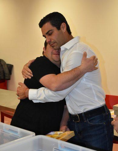 ראש עיריית מיאמי ביקר לראשונה במרכז שלוה